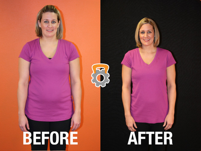 Amy Lost 25.2 lbs in 12 Weeks