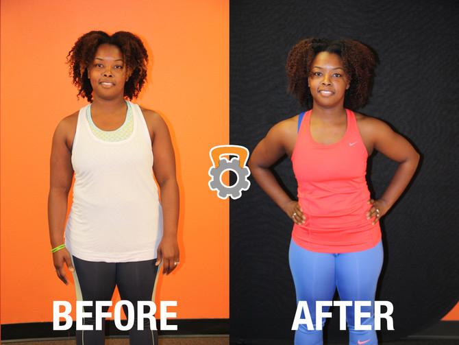 Nikki Lost 17.6 lbs in 12 Weeks