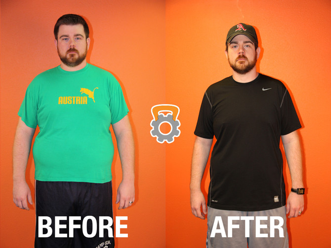Jeff White Lost 48.8 lbs & 7 inches in 12 Weeks