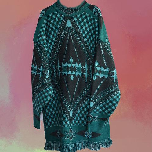 Sweter Wzorzysty