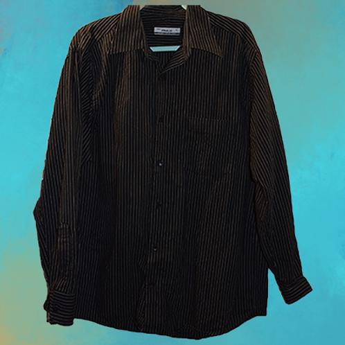 Elegancka Czarna koszula