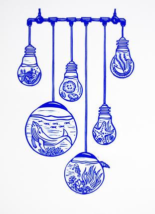 Sea light bulbs