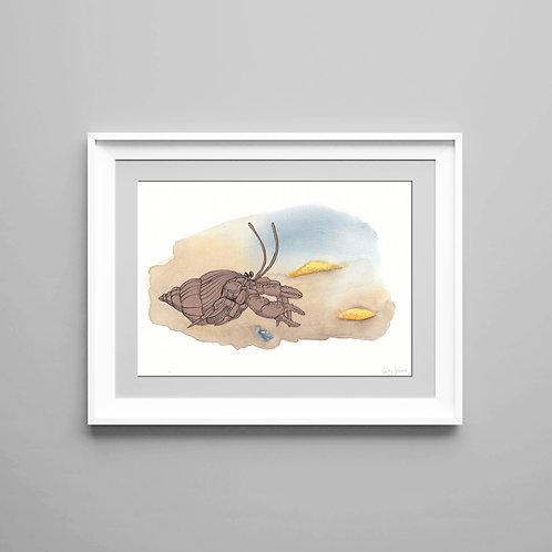Giclée print Little Crab