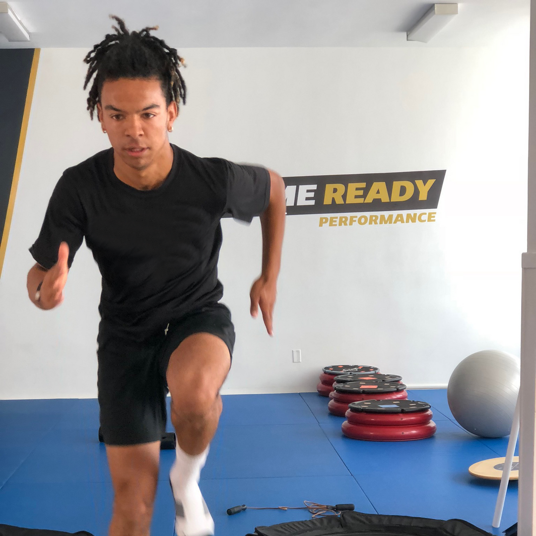 Noah.  Pefect form whether training for stability, or doing The Robot