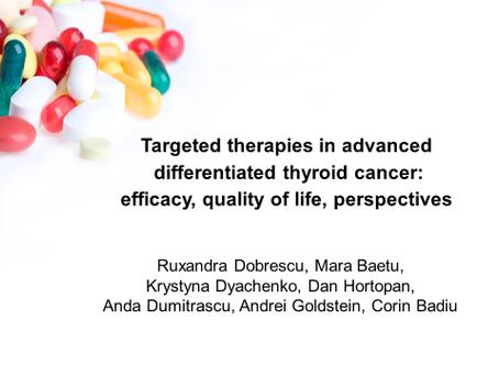 Terapii țintite în cancerul tiroidian diferențiat