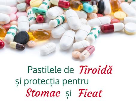 Tiroida și protecția pentru ficat și stomac