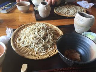 """河津桜祭り会場の近く、東伊豆の稲取町にある""""誇宇耶""""(こうや)蕎麦さん、おいしいですよ!"""