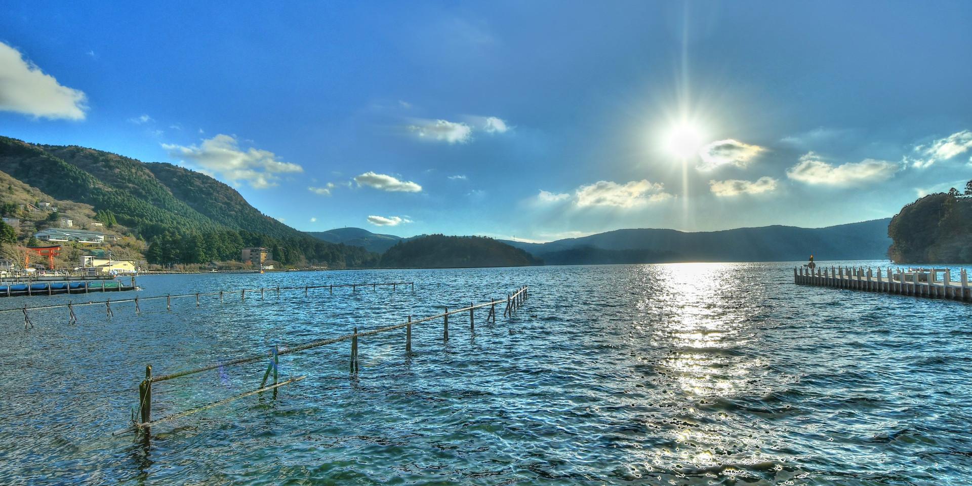 箱根の芦ノ湖