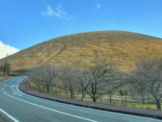 伊豆高原の大室山の伝説をザックリと描きます。