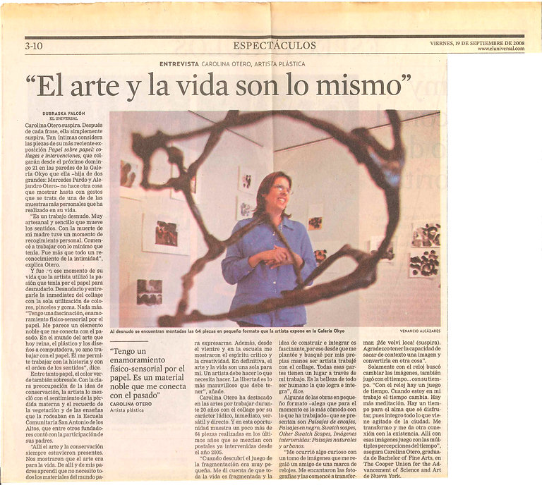 El Arte y La Vida son Lo Mismo (1998).jpg