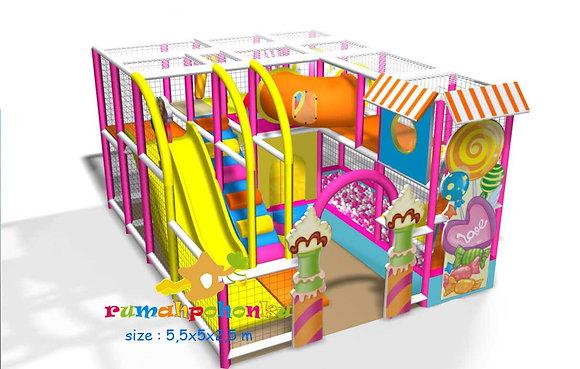 Candy zone indoor playground