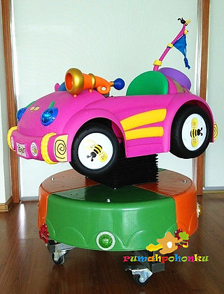 Mainan mesin koin Little Car - 02