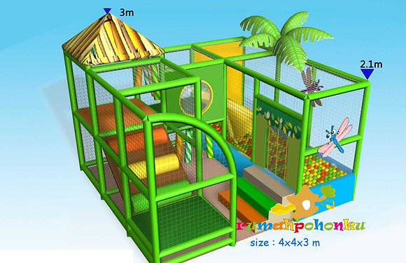 Tropical Ball Pit indoor playground