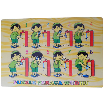 Puzzle Peraga Wudhu 10WDN07