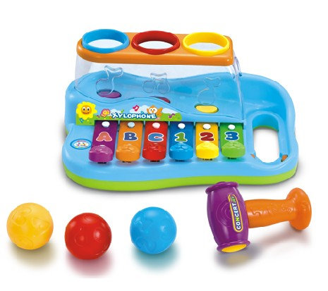 Xylophone and Hammer Ball