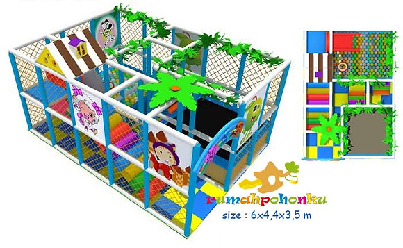 Medium fun area 1 indoor playground