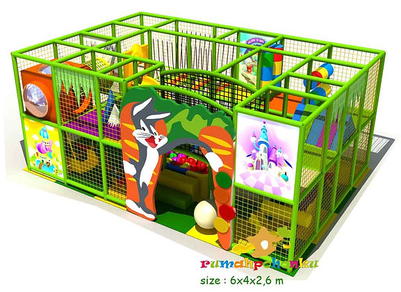 Rabbit indoor playground