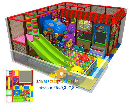 Double party 1 indoor playground