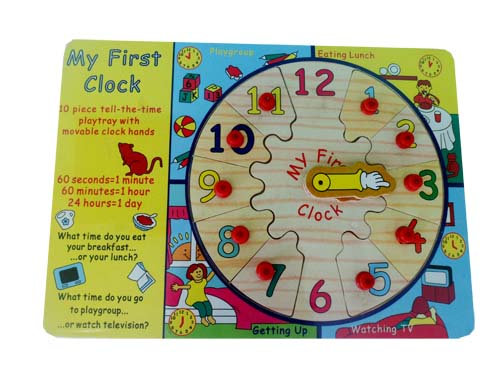Puzzle My First Clock