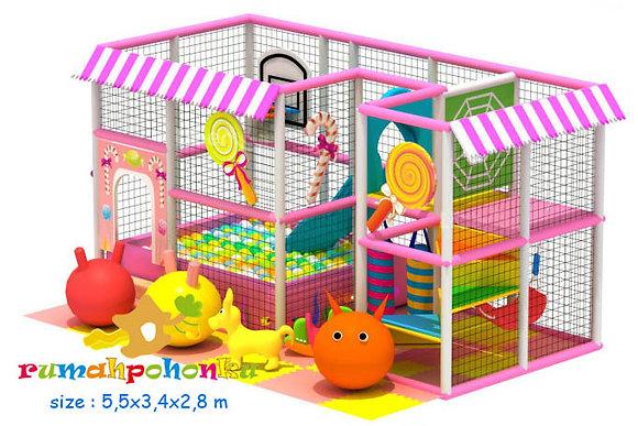 Lolypop party indoor playground
