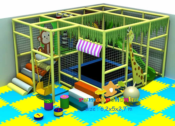 Medium fun area 3 indoor playground