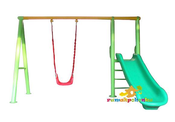 Outdoor Swing Set Slide