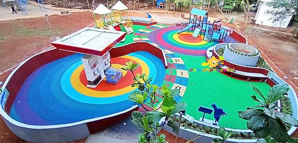 Playground Custom Taman Kota 1 – BSD (PBAS, Pertamina)