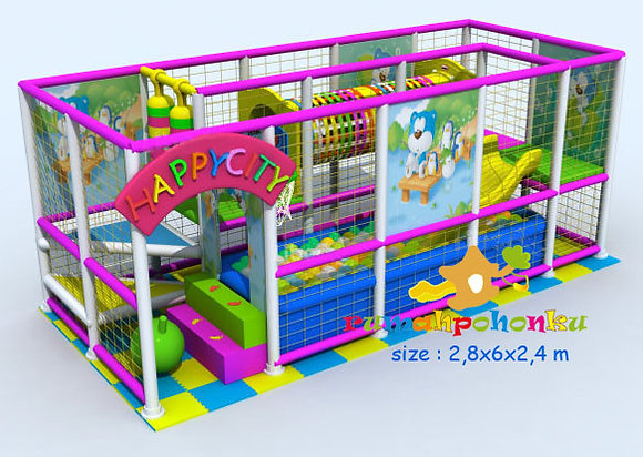 Happy city indoor playground