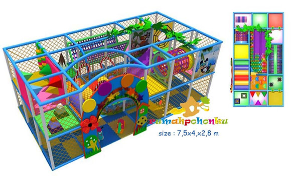Complete party indoor playground