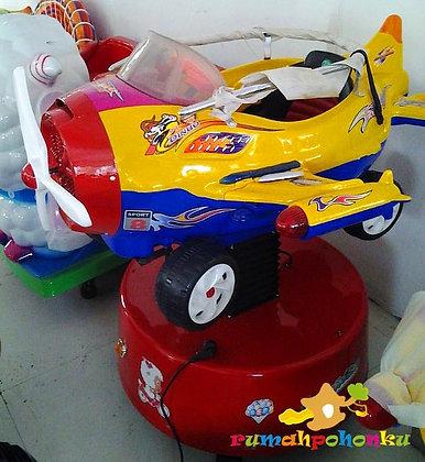 Mainan mesin koin Plane - 01