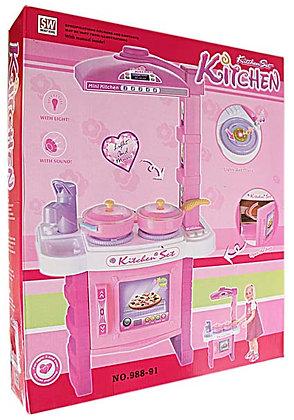 mini kitchen pink 08PTD011
