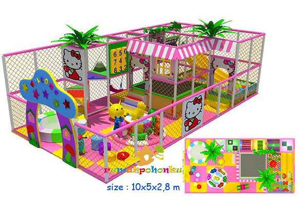 Hello kitty party indoor playground