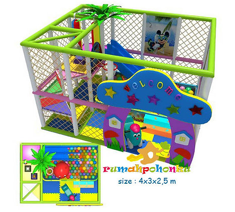 Simple ball pit 2 indoor playground