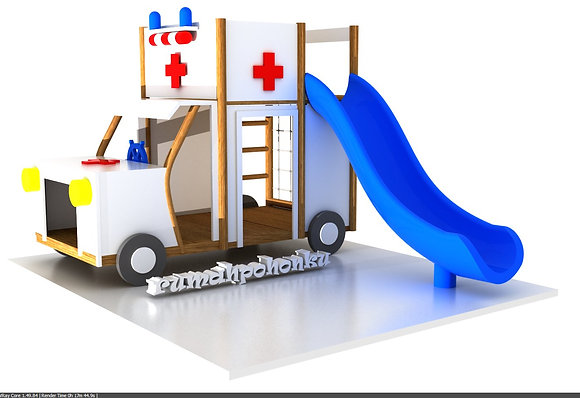 Ambulance slide type 1