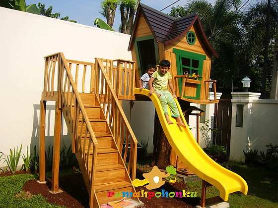Playground Rumah Pohon Boy Club - Pasar minggu