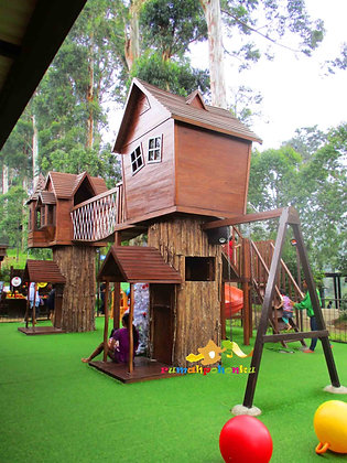 Rumah Pohon Dusun Bambu