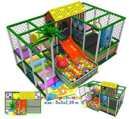 Trampoline ball pit 2 indoor playground