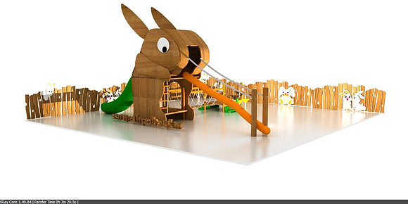 Rabbit playground