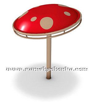 Spinning mushroom