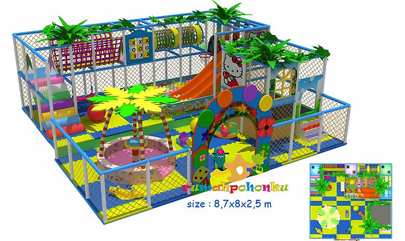Double party combo 2 indoor playground