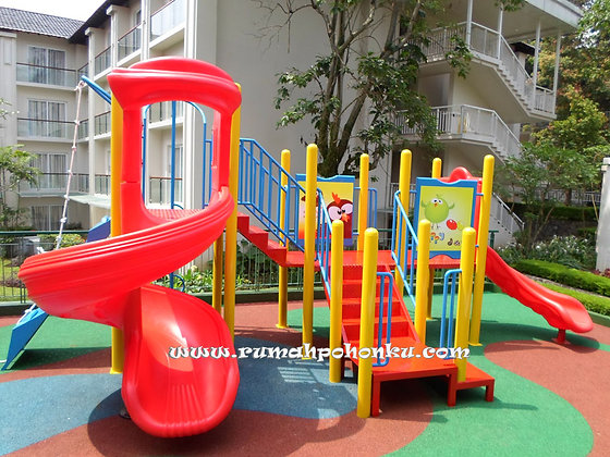 Play Tower 3 spiral slide