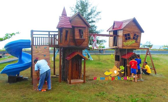 Rumah Pohon Dinas Pertamanan Kota Padang