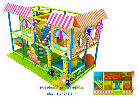 Trampoline ball pit 4 indoor playground