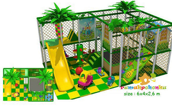 Medium fun area 4 indoor playground