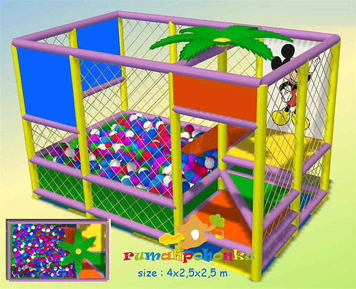 Simple Ball pit 3 indoor playground
