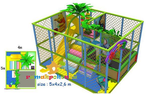 Trampoline ball pit 3 indoor playground
