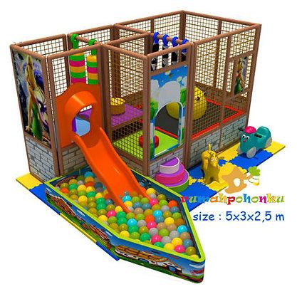 Trampoline ball pit 1 indoor playground