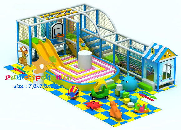 Double party combo 1 indoor playground