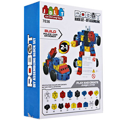 JDLT 2in1 Robot 65 Pcs F0815