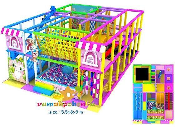 Fun house indoor playground